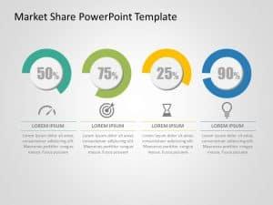 Market Share PowerPoint Template 2