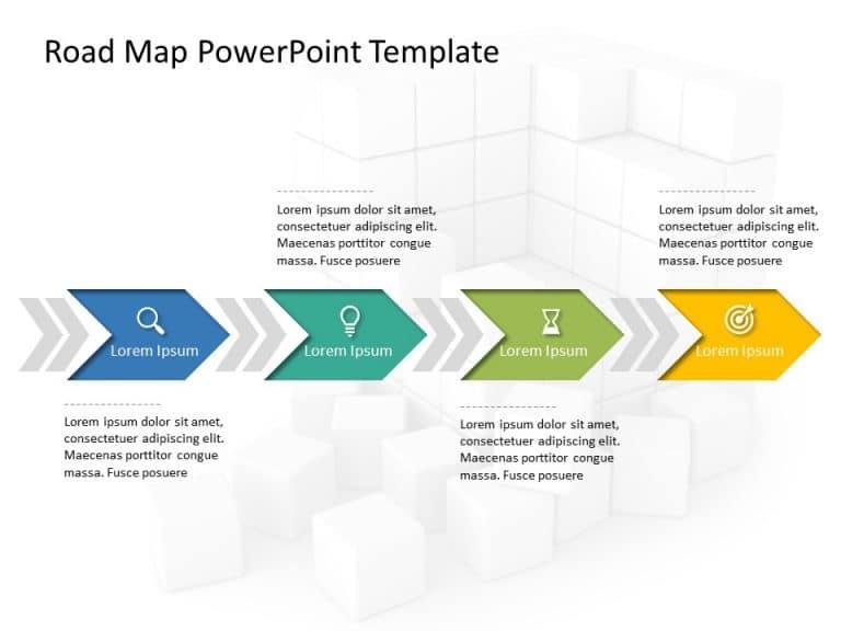 Free Business Roadmap PowerPoint Template 28
