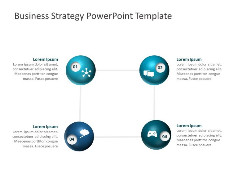 Business Strategy PowerPoint Template 16