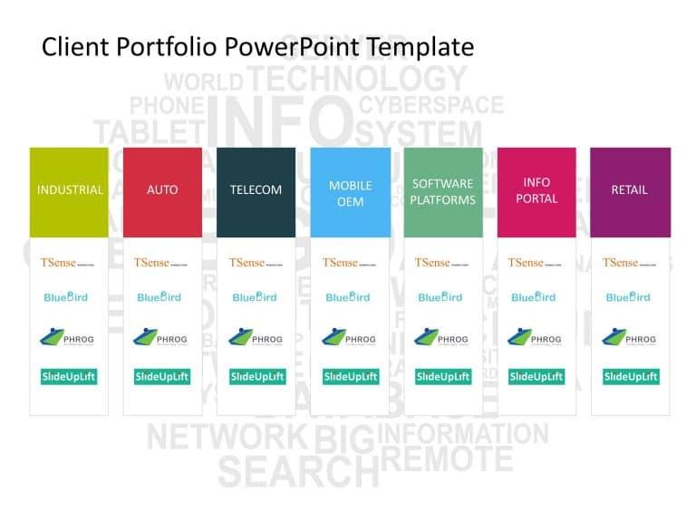 Client Portfolio PowerPoint Template 1