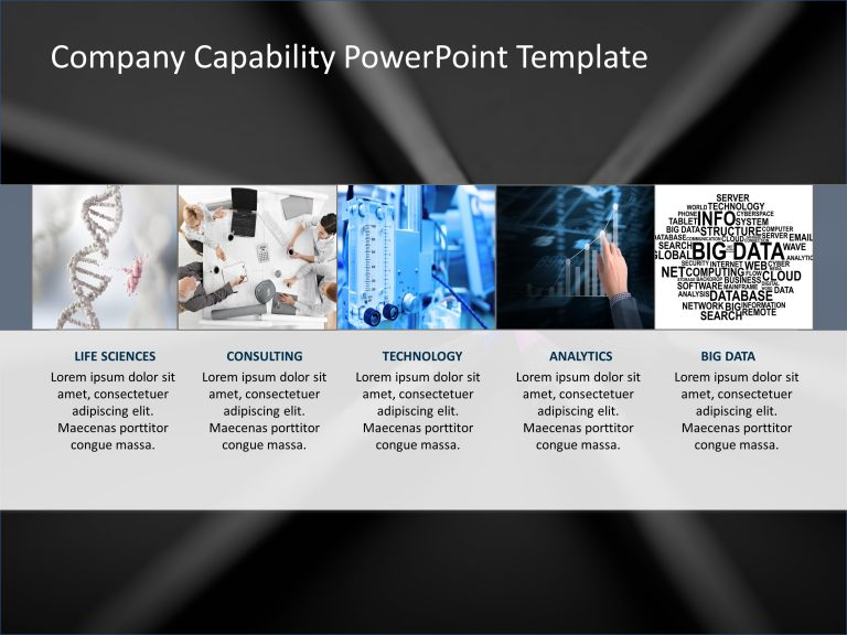 Company Capabilities PowerPoint Template 6