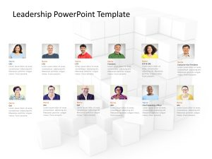 Corporate Leadership PowerPoint Template