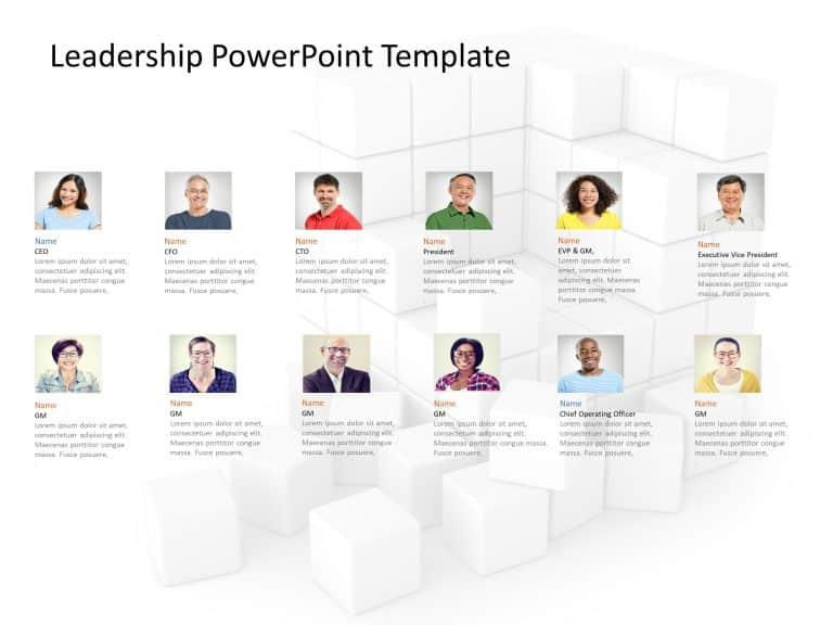 Corporate Leadership PowerPoint Template