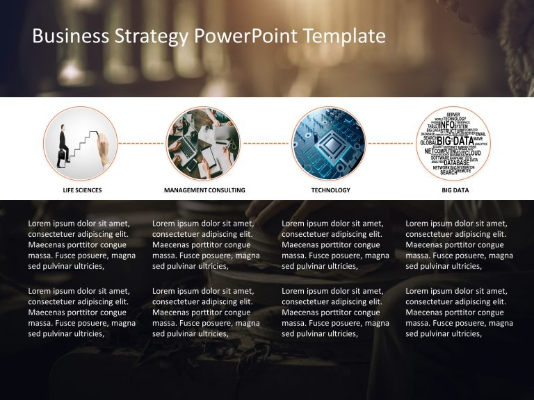 Business Strategy PowerPoint Template 18