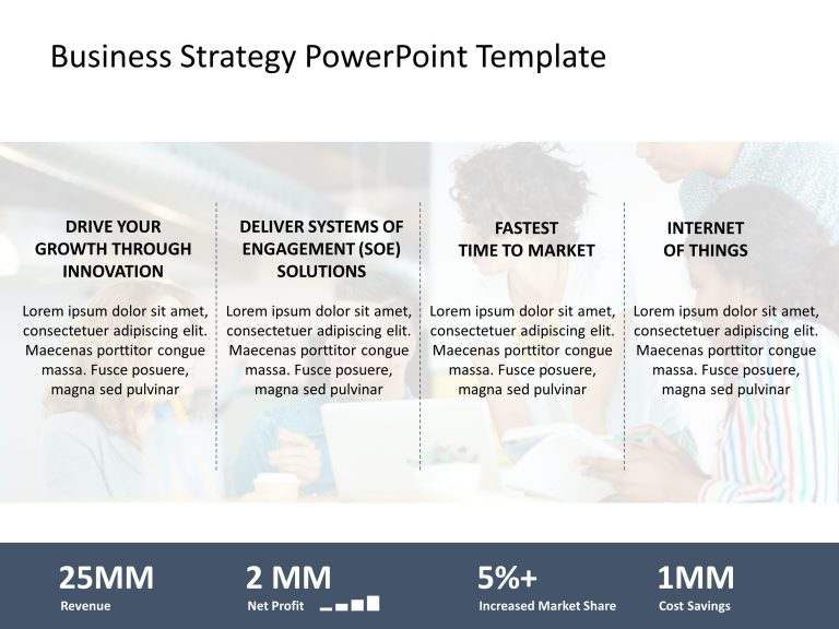 Business Strategic Divisions PowerPoint Template