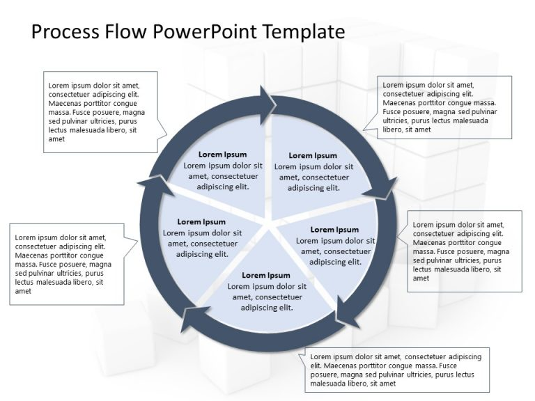 Business Process PowerPoint Template 14