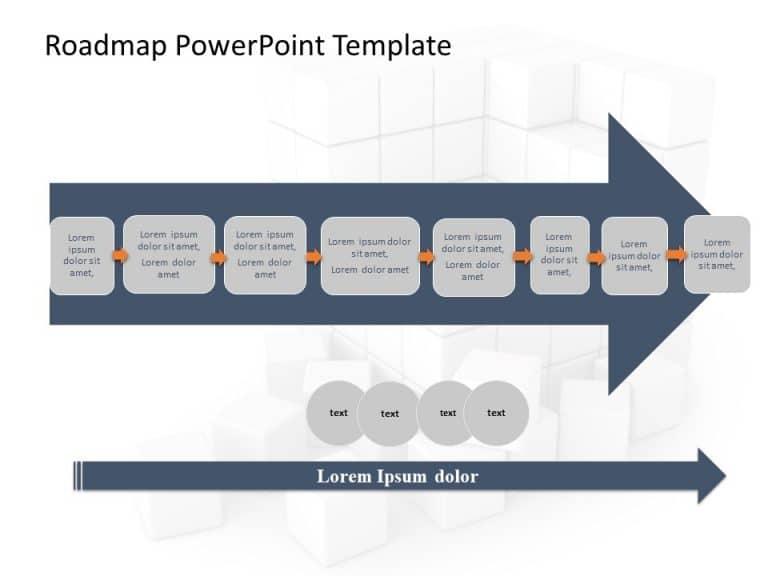 Business Roadmap PowerPoint Template 32