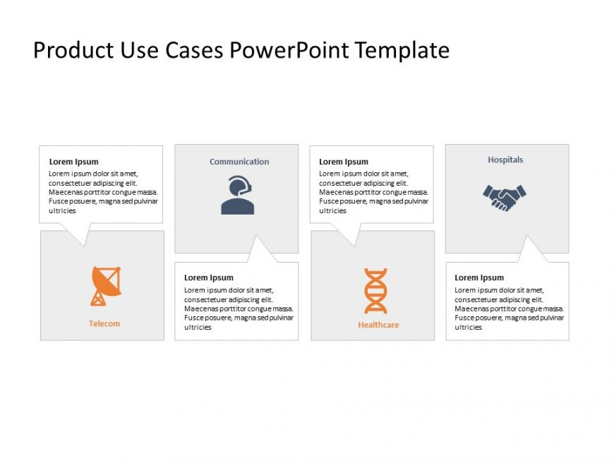 Product Use Cases PowerPoint Template