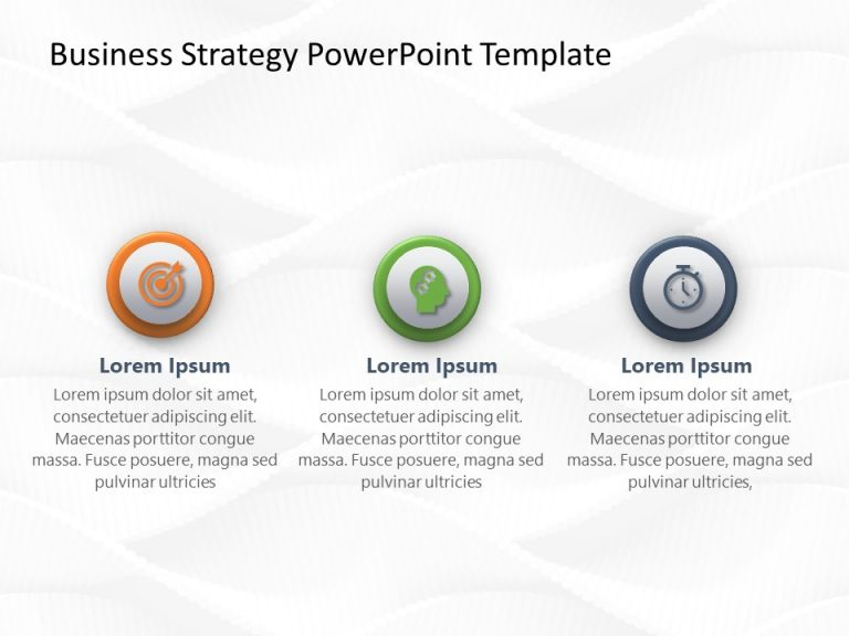 Business Strategy PowerPoint Template 25