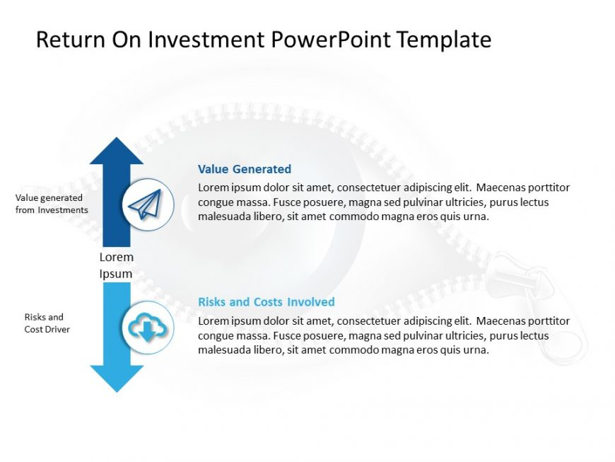 Return On Investment PowerPoint Template