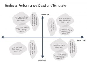 Business Performance Quadrant PowerPoint Template