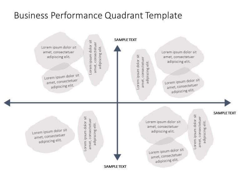 Business Performance Quadrant Powerpoint Template Business Review Powerpoint Templates Slideuplift