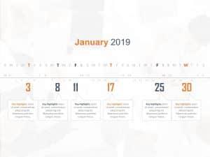 Calendar PowerPoint Template 6
