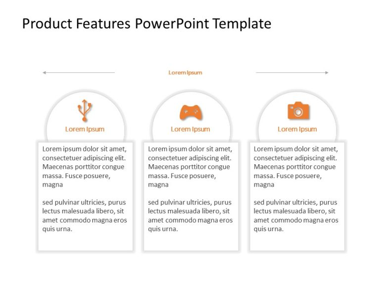 Product Features PowerPoint Template 13