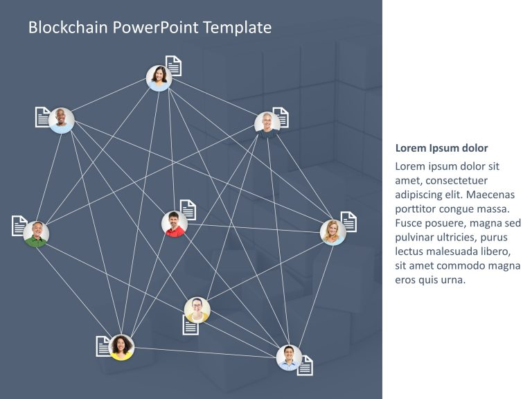 Blockchain PowerPoint Template 1
