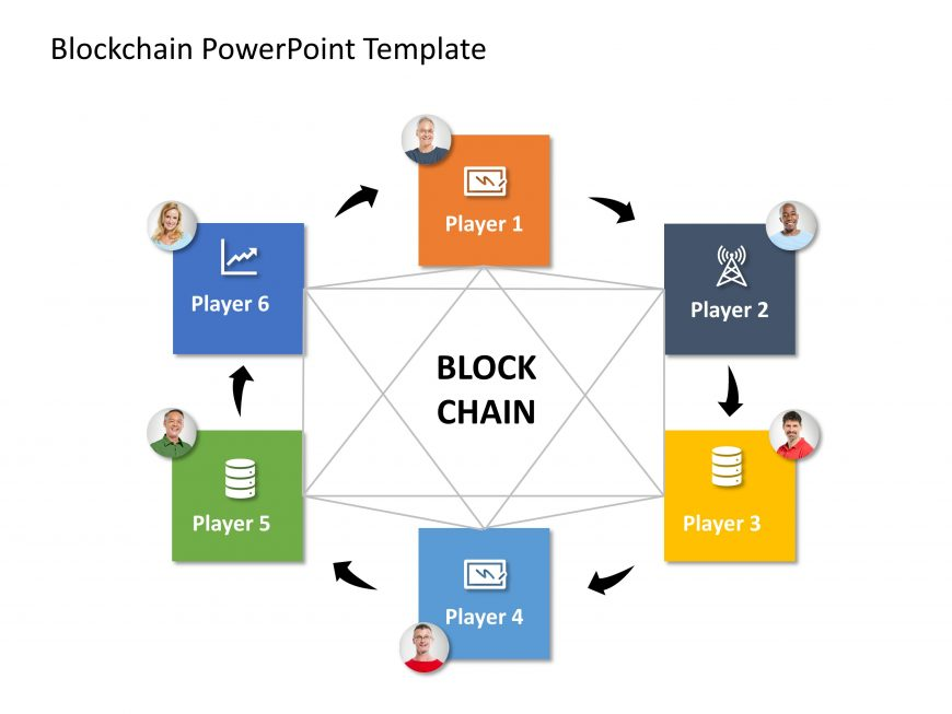 Blockchain PowerPoint Template 6