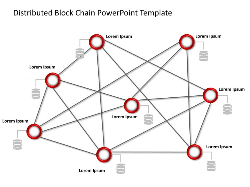 Blockchain PowerPoint Template 8