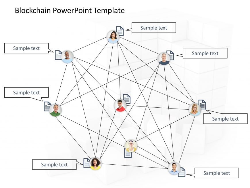Blockchain PowerPoint Template 9