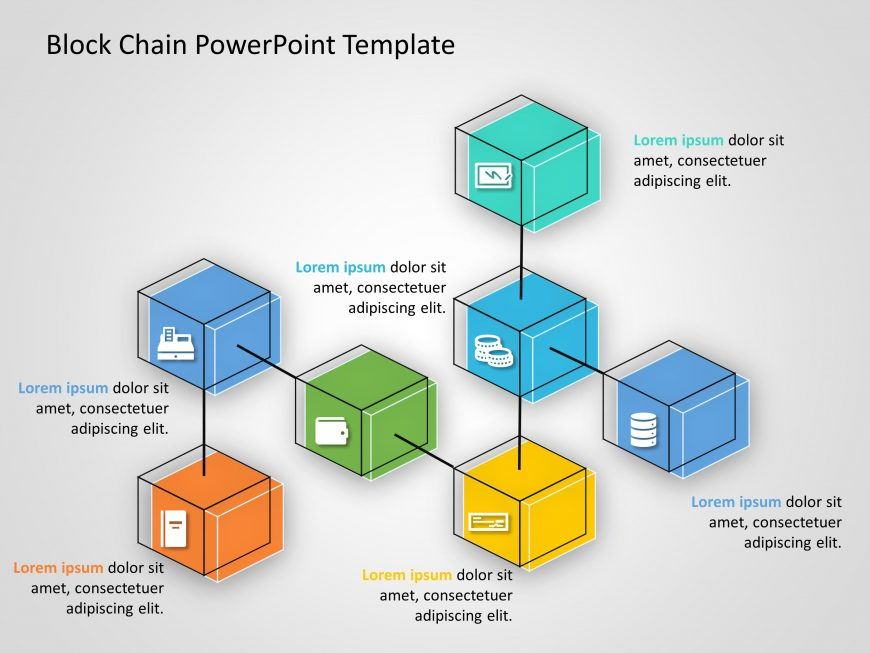 Blockchain PowerPoint Template 11