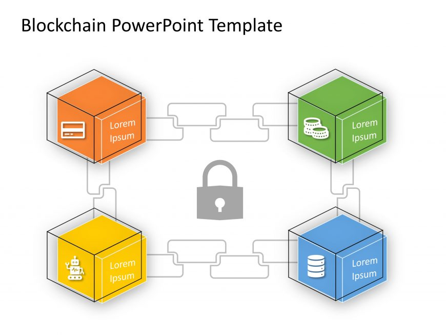 Blockchain PowerPoint Template 12
