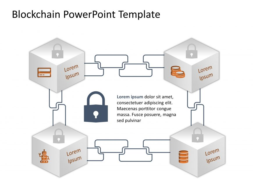 Blockchain PowerPoint Template 16
