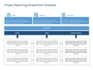 Project Reporting PowerPoint Template