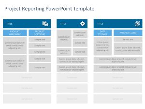 Project Reporting PowerPoint Template 1