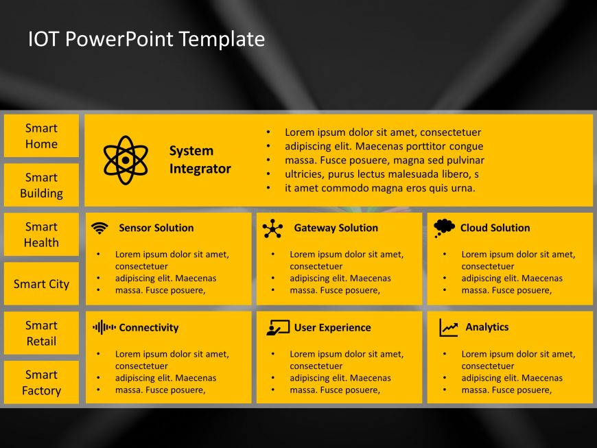 IOT PowerPoint Template 4