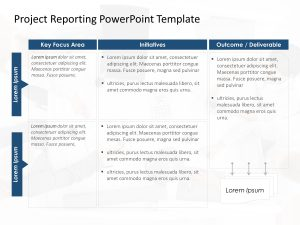 Project Reporting PowerPoint Template 2