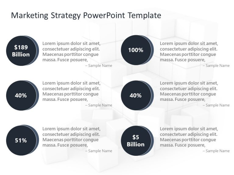 Marketing Strategy PowerPoint Template 2