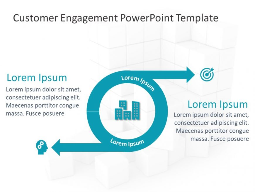 Customer Engagement PowerPoint Template