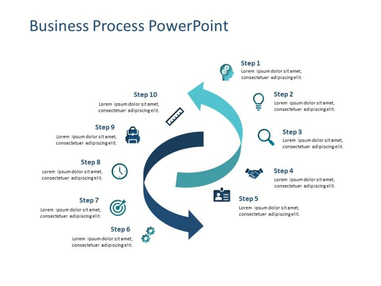 Business Process PowerPoint Template 5