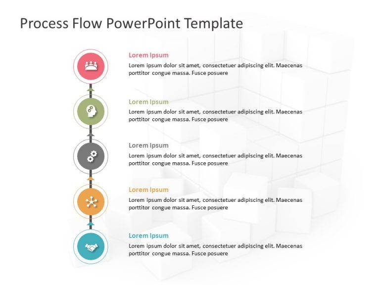 Business Process PowerPoint Template 8