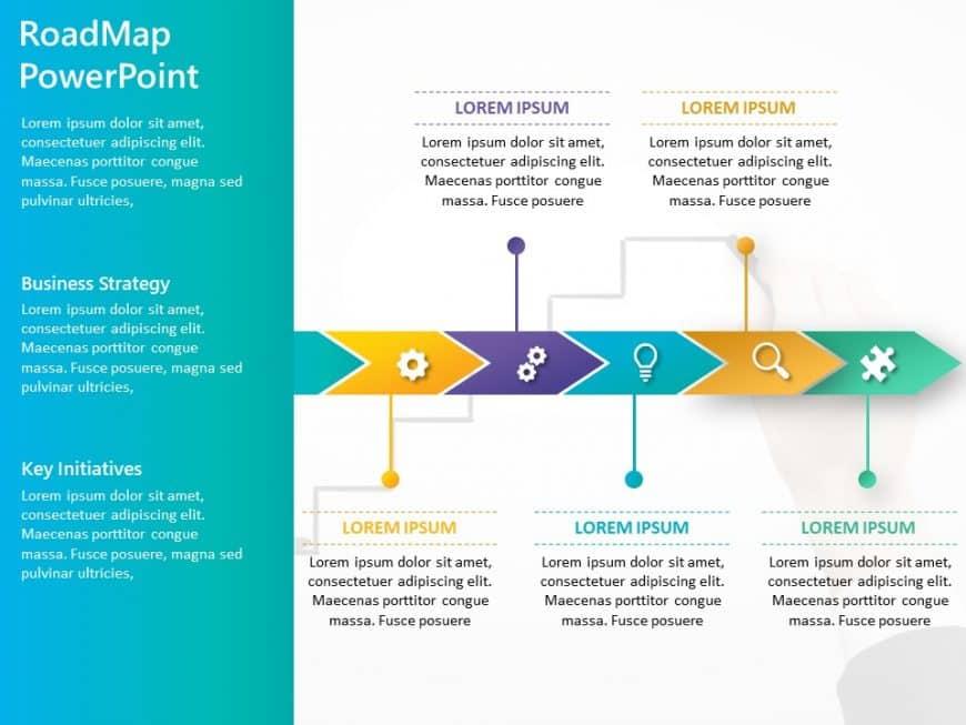 Business Roadmap PowerPoint Template 13