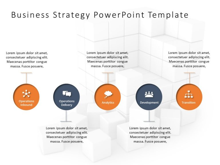 Business Strategy PowerPoint Template 7