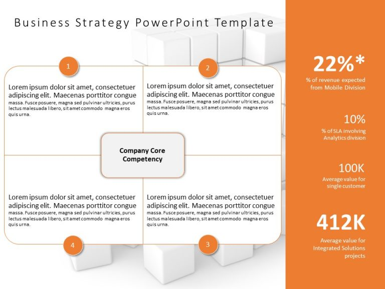 Business Strategy PowerPoint Template 9