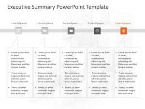 Executive Summary PowerPoint Template 30