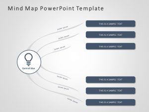 Mind Map PowerPoint Template 1