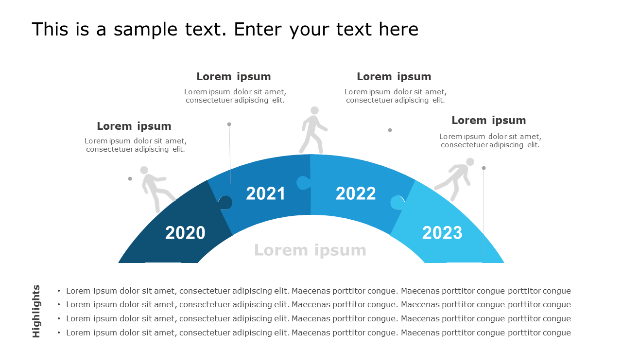 Timeline Template Example