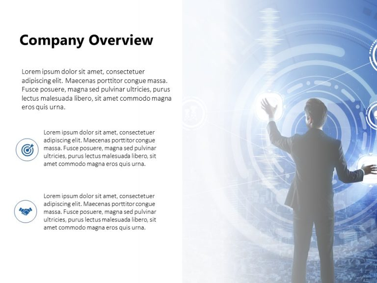 Company Overview PowerPoint Template 4