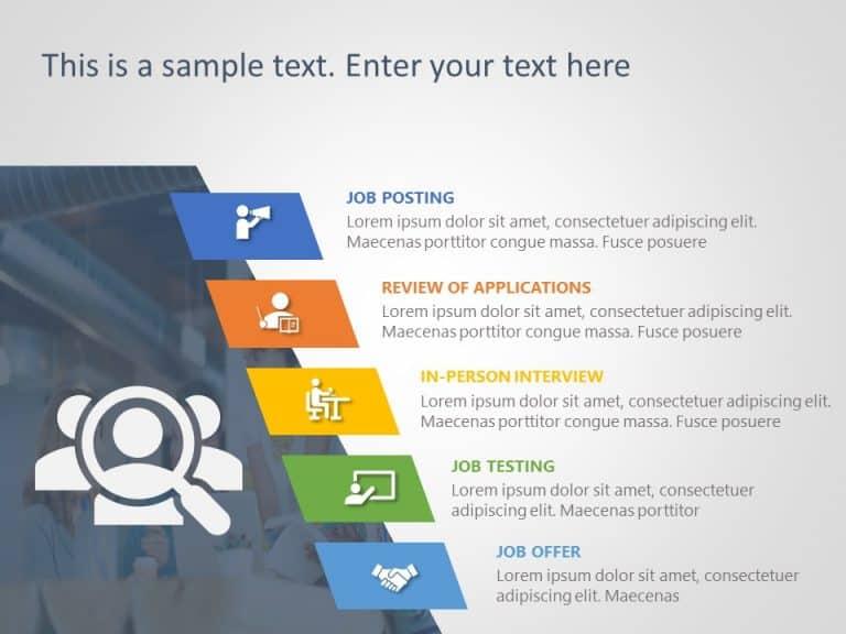 Recruitment Process PowerPoint Template 10