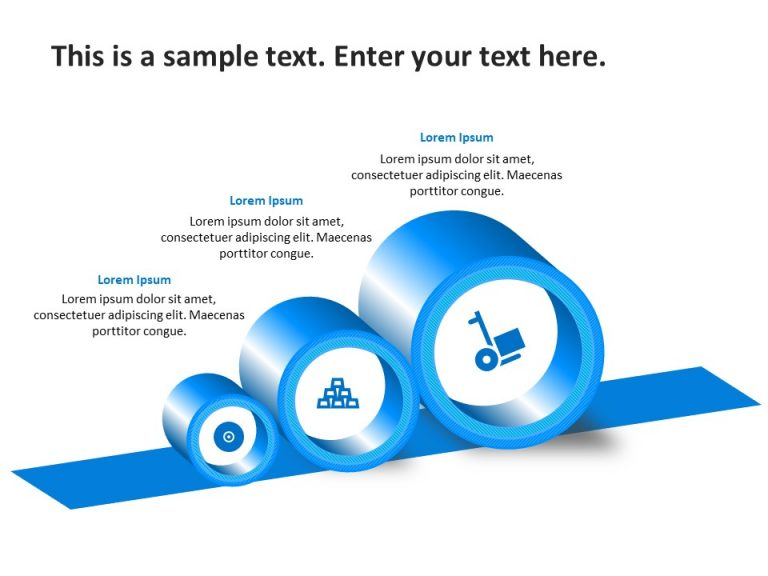 3 Steps PowerPoint Template 12