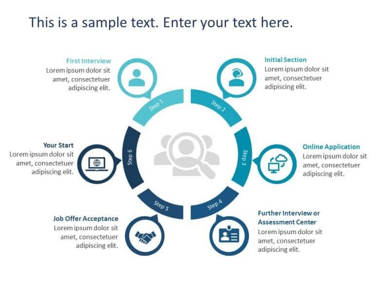 Recruitment Process PowerPoint Template 7