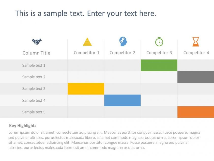 Competitor Analysis Powerpoint Template 19