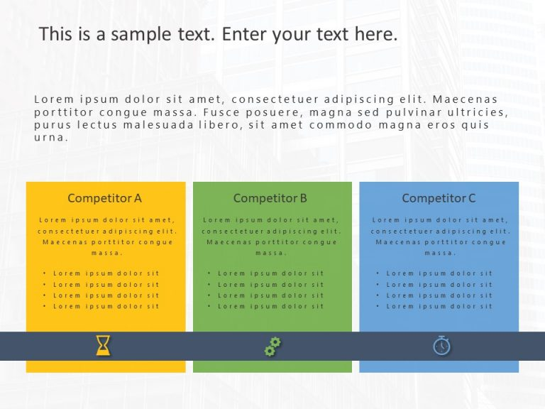 Competitor Analysis Powerpoint Template 20