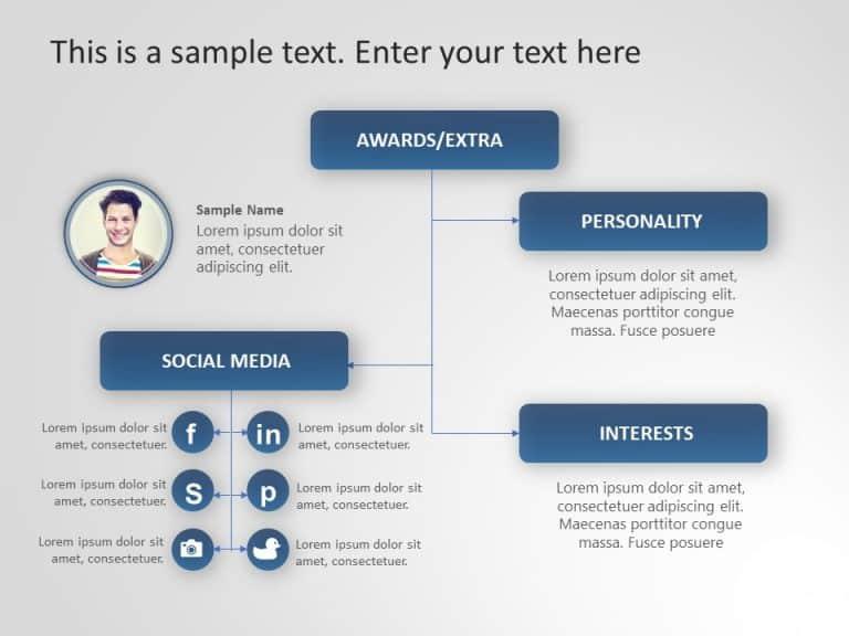 Employee Profile PowerPoint Template 7