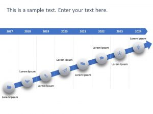 Free Timeline PowerPoint Template 73