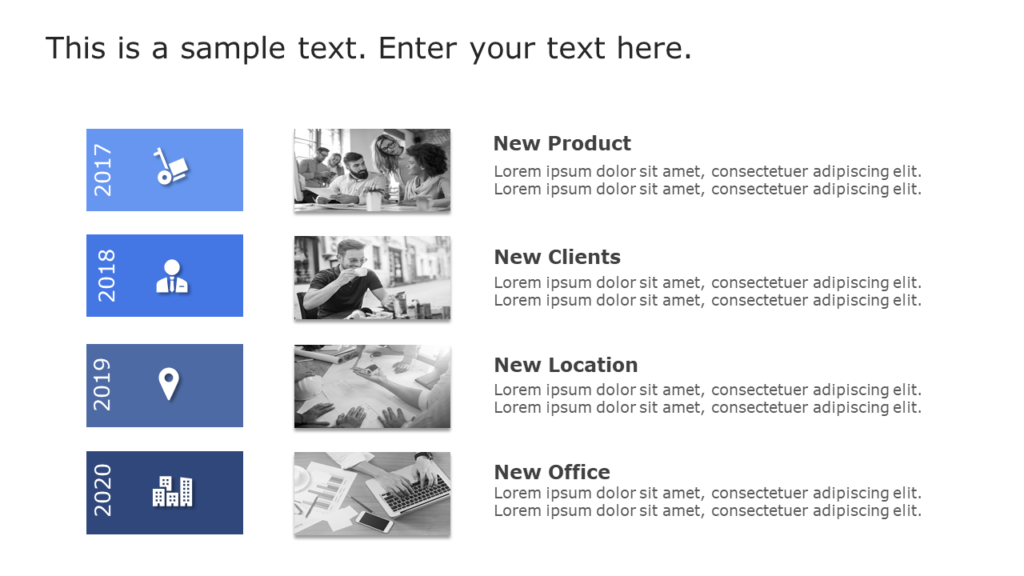 PPT Slide to make engaging presentations