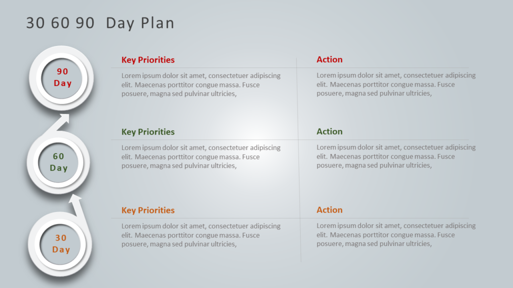 30 60 90 Day Plan Example