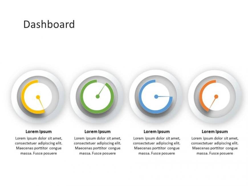 Status Dashboard PowerPoint Template